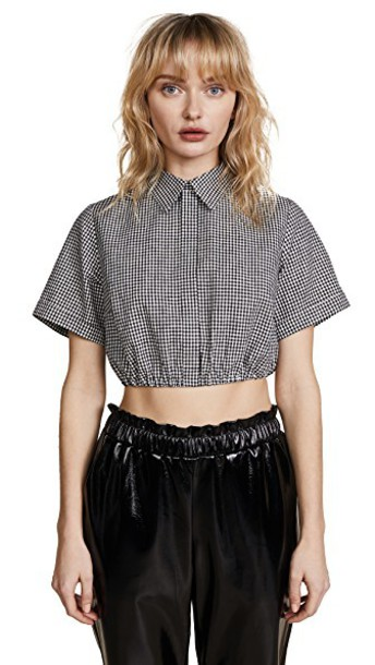 Sandy Liang top gingham