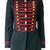 La Condesa Vizcondesa Beatle jacket, Women's, Size: 40, Blue, Polyester/Wool/Viscose
