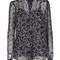 Michael kors star print blouse