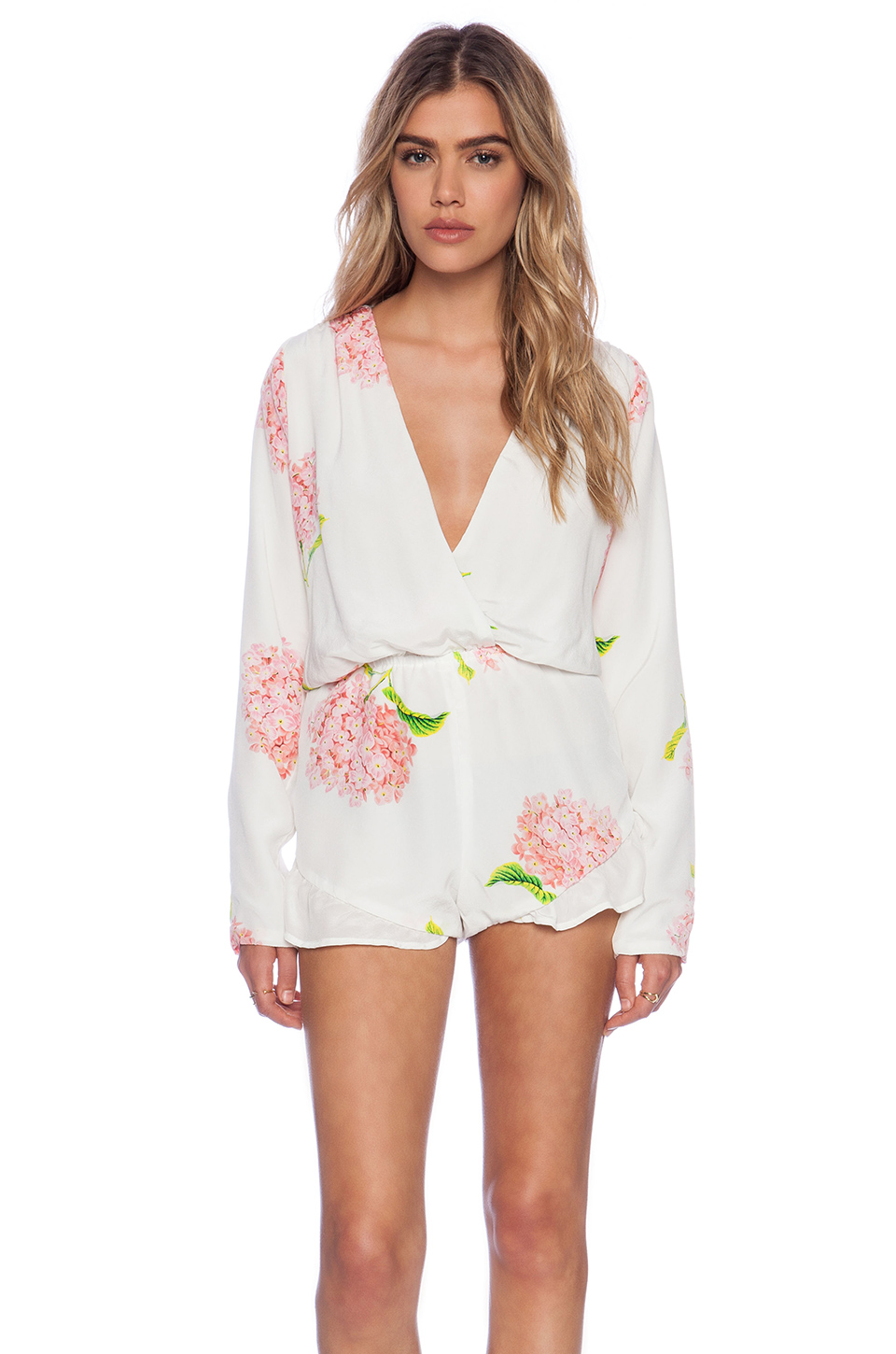 Stone_cold_fox love jumper in white bloom from revolveclothing.com