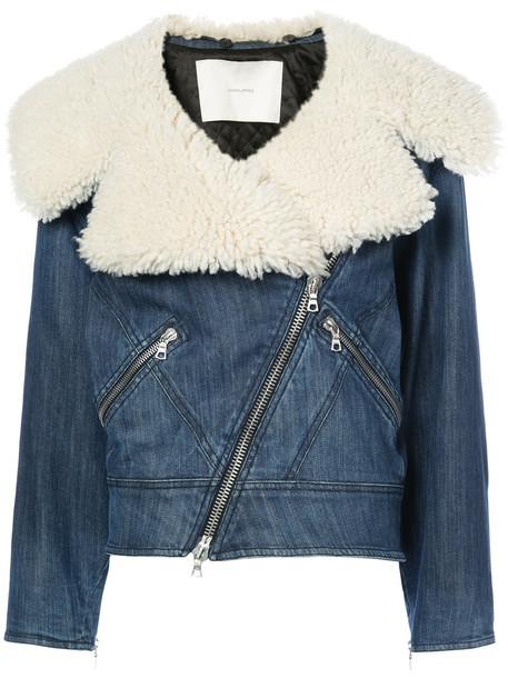 Adam Lippes jacket denim women