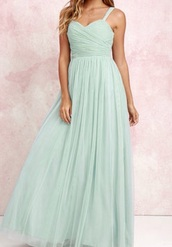 dress,green,prom,mint,lace dress,maxi dress,prom dress,cute dress