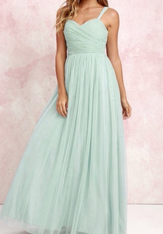 dress green prom mint lace dress maxi dress prom dress cute dress