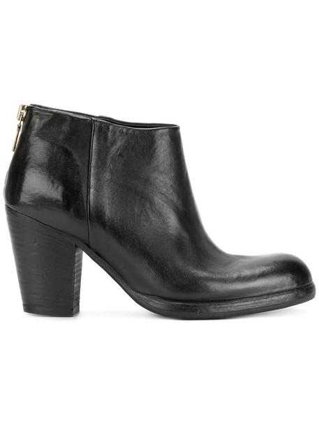 Sartori Gold women leather black shoes