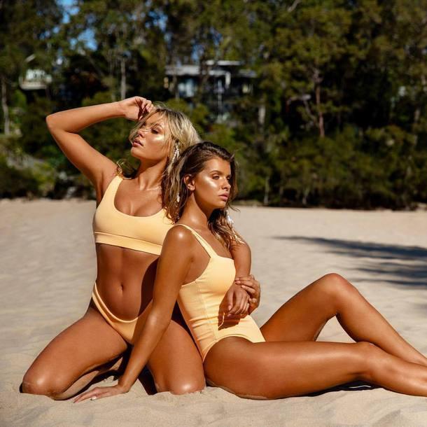 swimwear yellow swimwear