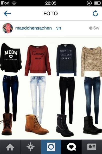 Sweater: winter sweate... Sweater Weather Tumblr Girls