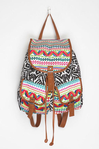 bag hipster colours black white red blue green brown pink