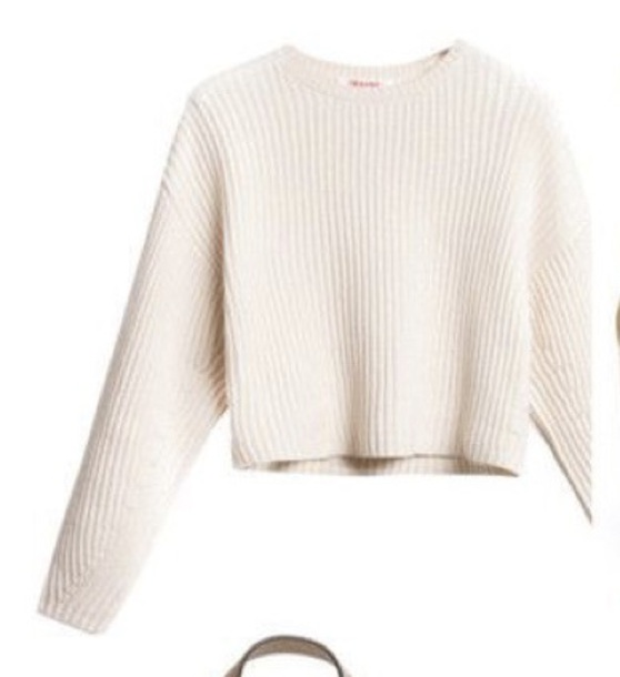 Sweater, $45 at Wheretoget
