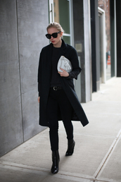 jacket,sunglasses,sweater,bag,jeans,belt,shoes,anya hindmarch