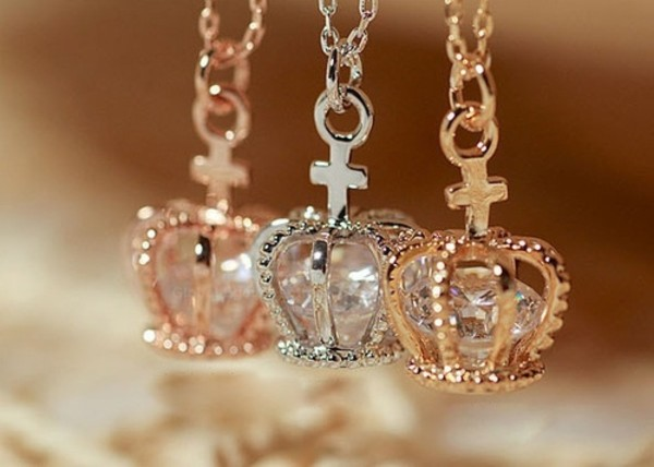 Diamond Necklace For Girl