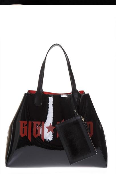 Tommy hilfiger bag tote bag black red