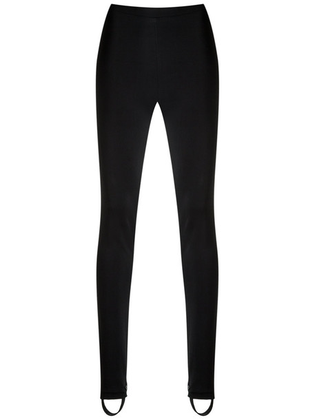 leggings high women black pants