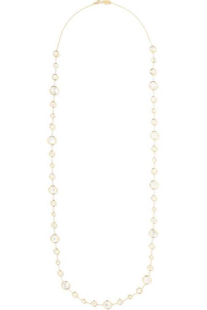 Ippolita pearl necklace gold jewels