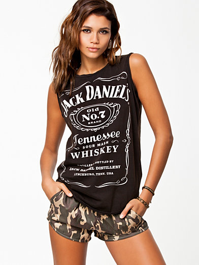 Print Sl Jack D Tank - River Island - Black - Tops - Clothing - Women - Nelly.com Uk