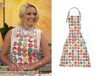 skirt young&hungry apron donut emily osment
