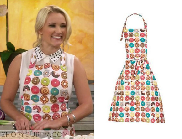 donut skirt young&hungry apron emily osment
