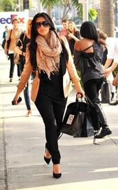 jacket,blazer,kim kardashian,kardashians,kardashian kollection,kardashian khaos,heels,black,high heels