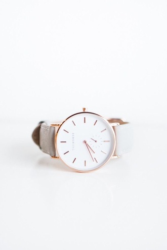 jewels watch leather white gold women watches