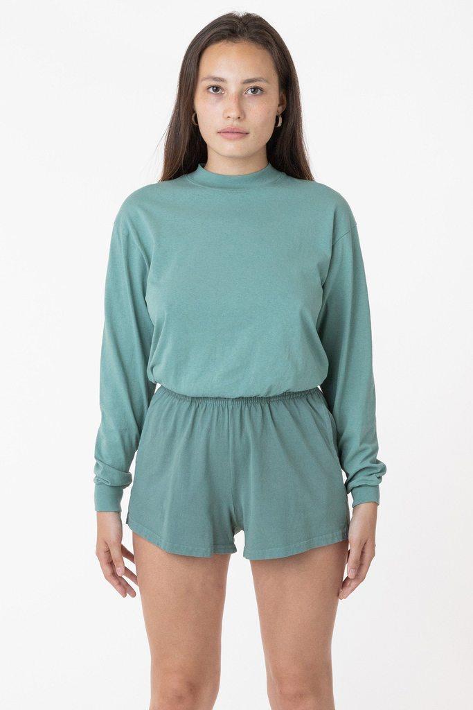 1214GD - Heavy Jersey Garment Dye Short Shorts
