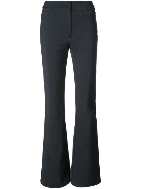 ellery pants palazzo pants women blue wool
