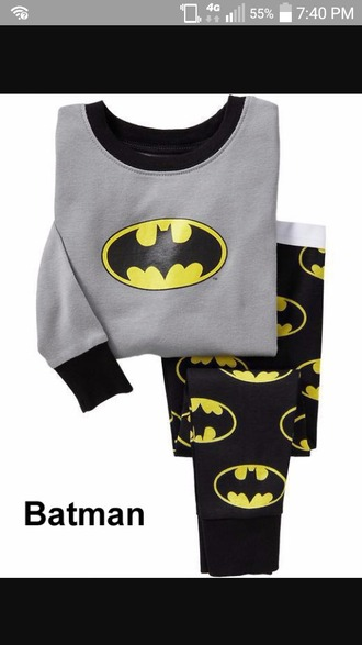 batman leggings pajamas