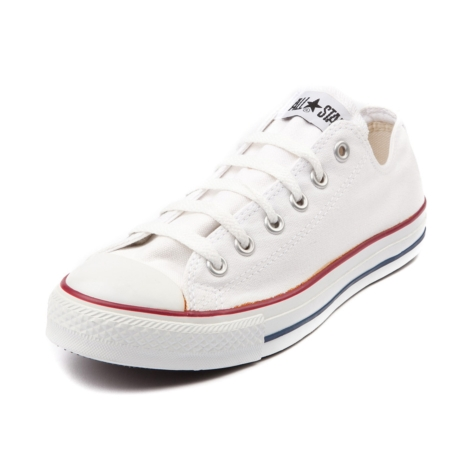 Converse All Star Lo Sneaker, Optical White, at Journeys Shoes
