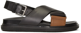 sandals black brown shoes