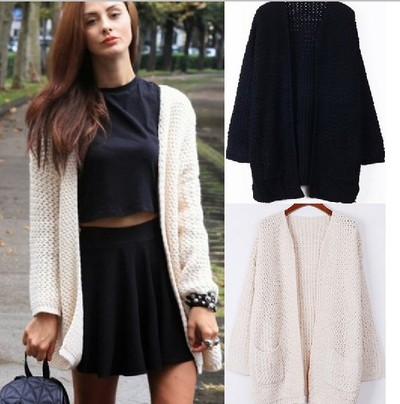 yourfashionsandcute | Warm Whole Color Open Front Cardigan | Online Store Powered by Storenvy
