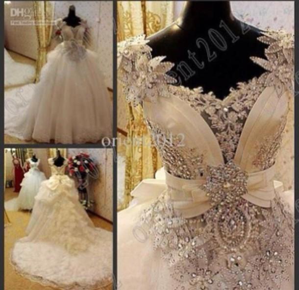 dress jeweled diamonds crystal