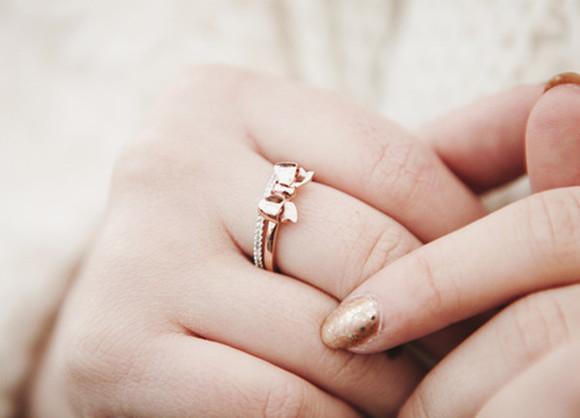 cute bows jewels gold