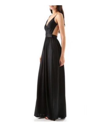 dress open back open back dress spaghetti strap prom dress