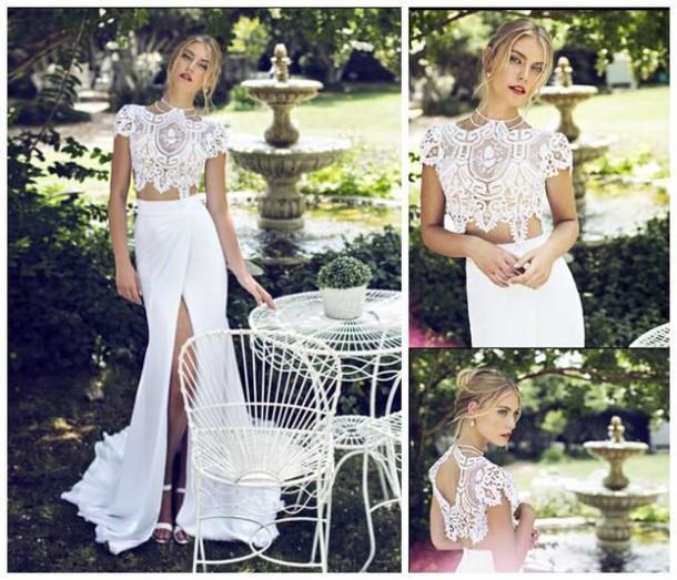 2015 wedding dresses two-piece mermaid wedding dress lace wedding dress berta bridal gowns 2014 2015
