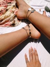 jewels,anklet,vintage,bracelt,bracelets,feet,jewelery,feet accesoires