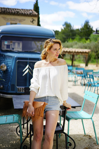 estelle blog mode blogger top shorts