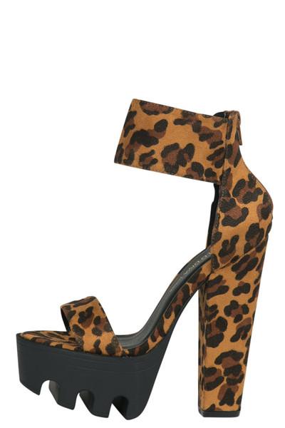 Platform Heel (LEOPARD) | Lilly's Kloset