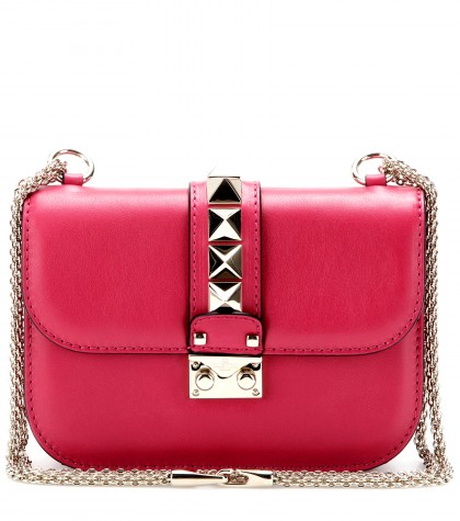 e7372528a3d mytheresa.com - Lock Small leather shoulder bag - shoulder bags ...