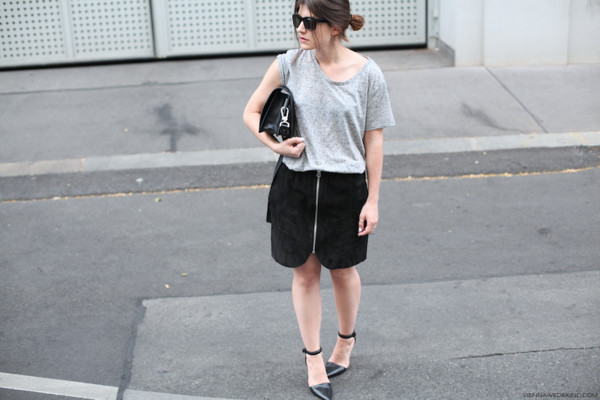 vienna wedekind skirt t-shirt jewels shoes