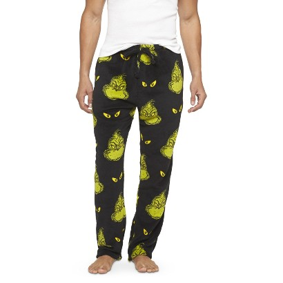 Men's grinch sleep pants