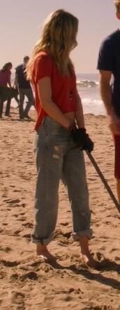 jeans,gillian zinser,90210,shirt