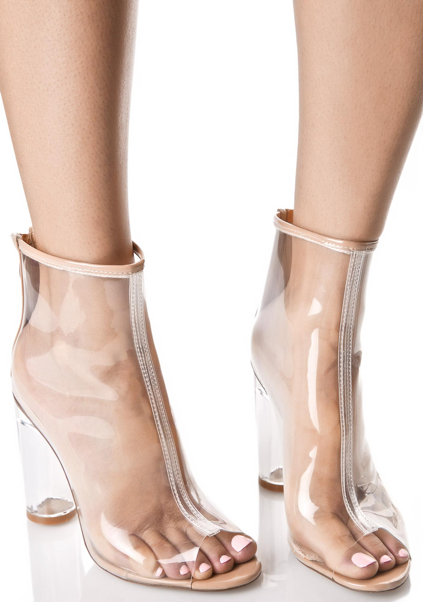 Round Toe Wedge Shoes