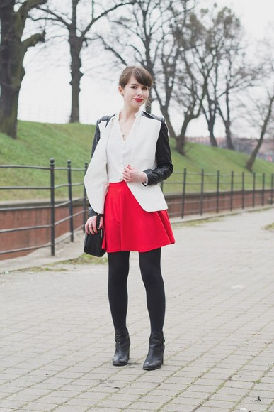 scarf jacket kapuczina skirt bag shoes shirt jewels