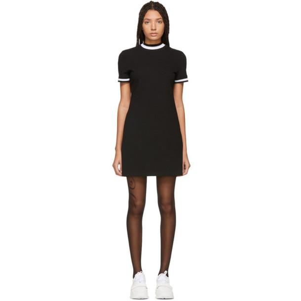 alexanderwang.t Black High Twist Mini Dress