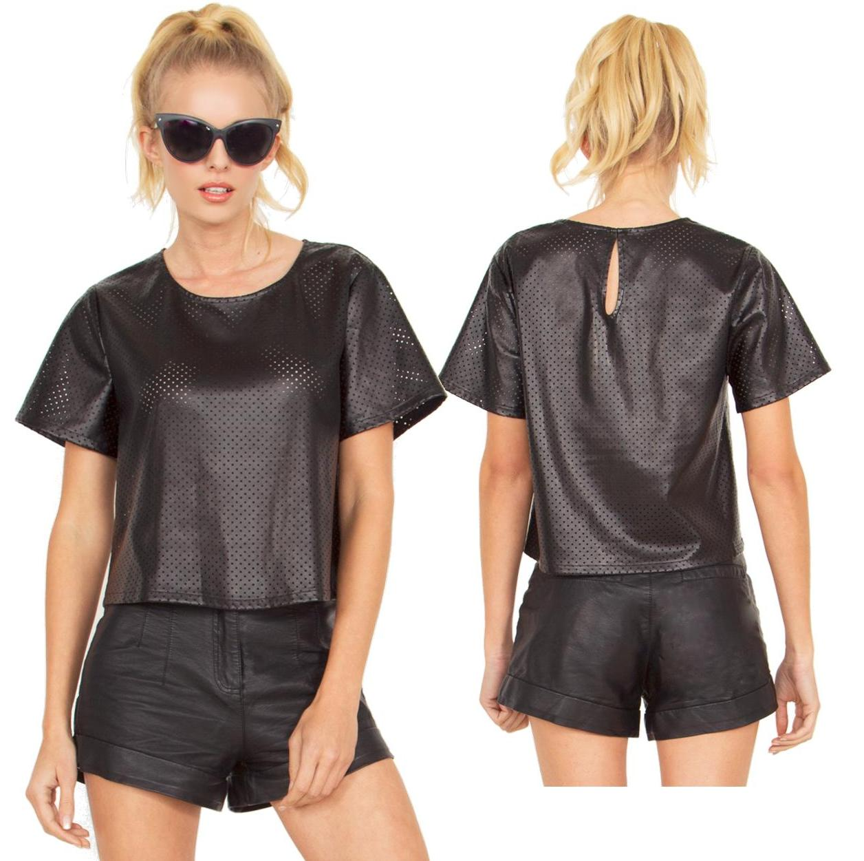 Nothing but net black top · trendyish · online store powered by storenvy