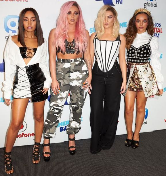 30f3000555 pants top little mix perrie edwards jade thirlwall jesy nelson leigh-anne  pinnock skirt camouflage