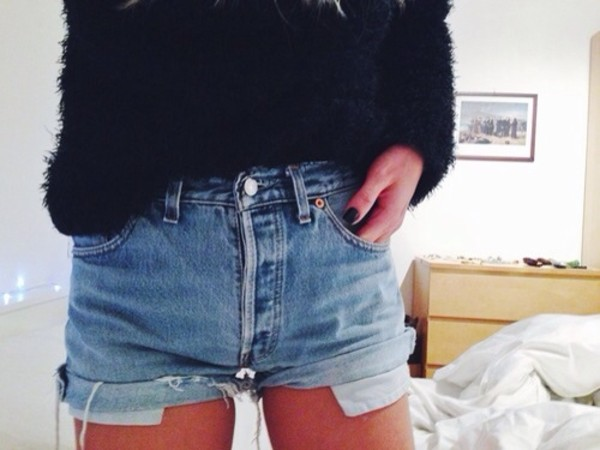shorts levi's shorts levi's jeans summer sweater