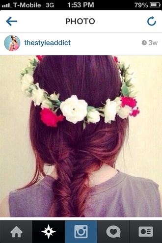 hat hair hair accessory hair band jewels flower crown fashion cute dress