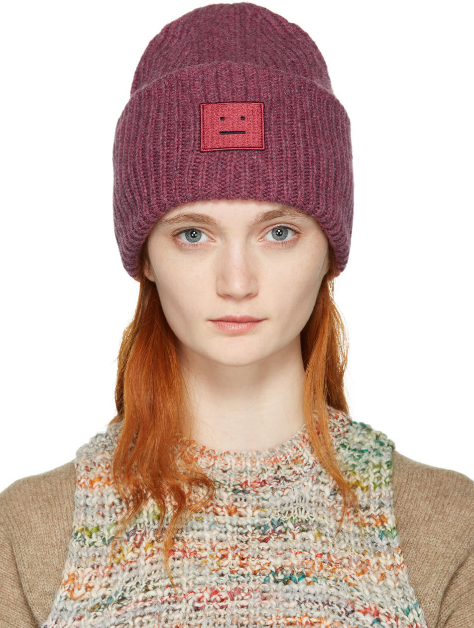 3d62dd37562b3 Acne Studios Zefir Multicolor Hat - White Mix - Wheretoget