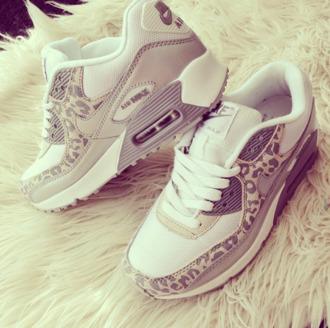 shoes nike air max white leopard adidas
