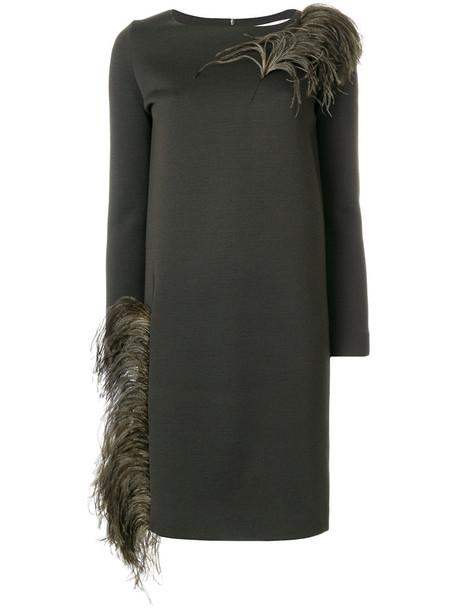 GIANLUCA CAPANNOLO dress sweater dress women wool green