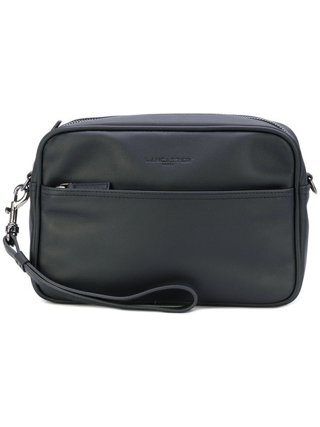 lancaster women bag clutch leather black